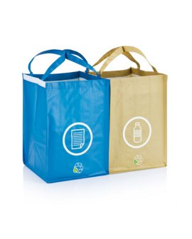 2 pcs recycle waste bags